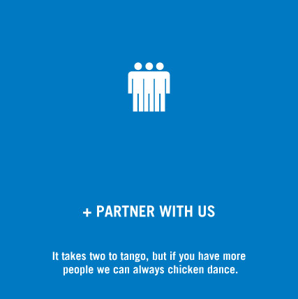 It takes two to tango, but if you have more people we can always chicken dance.