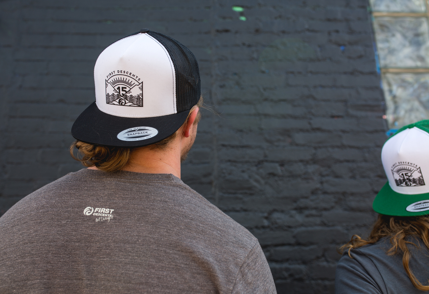 Th anniversary trucker hat first descents